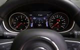 Jeep Compass 2018 road test review - instrument cluster