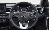 Kia Ceed 2018 road test review steering wheel