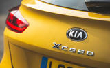 Kia Xceed 2019 road test review - rear badge