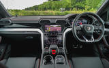 Lamborghini Urus 2019 road test review - dashboard