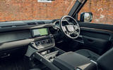 Land Rover Defender 2020 road test review - cabin