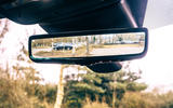 13 Land Rover Range Rover Evoque 2021 road test review rear view mirror