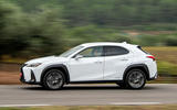 Lexus UX 2019 road test review - hero side