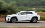 Lexus UX 2019 road test review - hero side