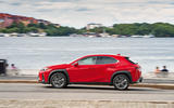Lexus UX 2018 road test review - on the road side