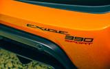 13 Lotus Exige Spot 390 Final 2021 RT rear model name