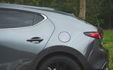 Mazda 3 Skyactiv-X 2019 road test review - rear quarters