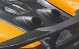McLaren 600LT Spider 2019 road test review - exhausts