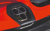 McLaren Senna 2018 road test review - exhaust