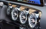 Mercedes-AMG A35 2018 review - air vents