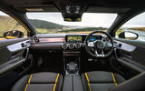 Mercedes-AMG A45 S 4Matic+ 2020 road test review - dashboard