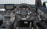 Mercedes-AMG GLC 63 S road test review dashboard