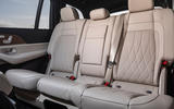 Mercedes-AMG GLS 63 2020 road test review - middle row seats