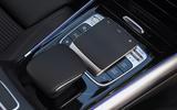 Mercedes-Benz B-Class 2019 road test review centre console
