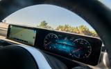 Mercedes-Benz CLA 2019 road test review - instruments