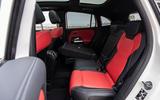 Mercedes-Benz GLA 2020 road test review - rear seats