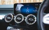 Mercedes-Benz GLB 2020 road test review - infotainment