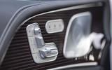 Mercedes-Benz GLE 2018 review - seat controls