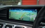Mercedes-Benz GLS 2020 road test review - infotainment