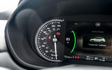 MG 5 SW EV 2020 Road test review - dials
