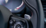 Mini JCW GP 2020 road test review - paddle shifters