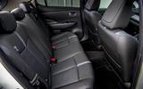 Nissan Leaf 2018 UK review rear seats