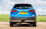 Nissan Qashqai road test review static back