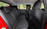 Peugeot 208 2020 road test review - rear seats