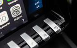 Peugeot 508 SW Hybrid 2020 road test review - infotainment controls