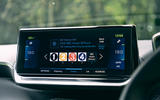 Peugeot e-2008 2020 road test review - infotainment
