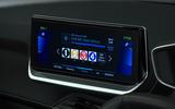 Peugeot e-208 2020 road test review - infotainment