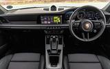 Porsche 911 Carrera S 2019 road test review - dashboard
