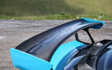 Porsche 911 GT2 RS 2018 road test review spoiler badge