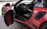 Porsche 911 GT3 RS 2018 review door sills