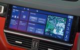 Porsche Cayenne Turbo 2018 road test review infotainment