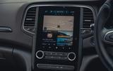 13 Renault Megane E Tech PHEV road test 2021 infotainment