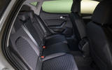 Seat Leon 2020 road test review - rear seats