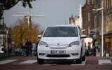 SKoda Citigo-e IV 2020 road test review - on the road front