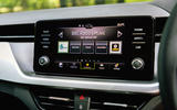 Skoda Scala 2019 road test review - infotainment