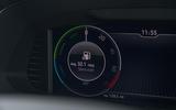 Skoda Superb iV 2020 road test review - eco instruments
