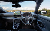 13 Toyota GR Yaris 2021 UK road test review dashboard