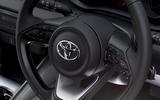 Toyota Yaris 2020 road test review - steering wheel