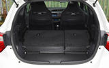 Toyota Yaris GRMN boot seats down