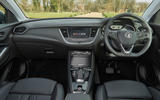 Vauxhall Grandland X Hybrid4 2020 road test review - dashboard