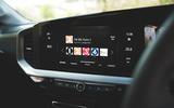13 Vauxhall mokka 2021 RT infotainment