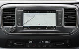 Vauxhall Vivaro Life 2019 road test review - navigation