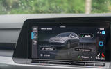 Volkswagen Golf 2020 road test review - infotainment