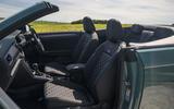 Volkswagen T-Roc Cabriolet 2020 road test review - cabin