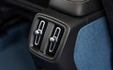 13 Volvo C40 Recharge 2021 first drive review rear air vents