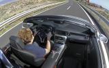 Driving the Mercedes-Benz SLK 250